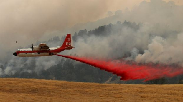 [BAY] County Fire Scorches Land in Napa, Yolo Counties