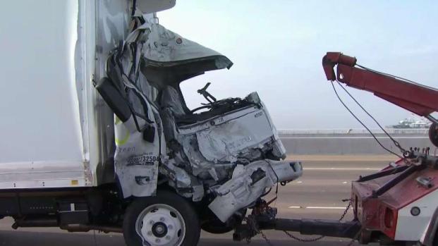 [BAY] Deadly Crash Snarls Westbound Bay Bridge Traffic