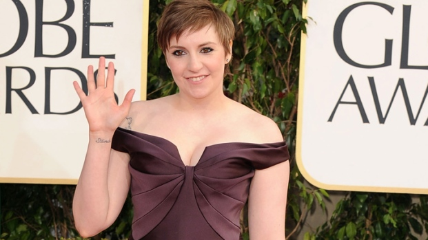 [NY] Lena Dunham on Golden Globes Excitement
