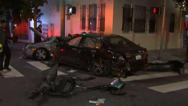 [BAY ML 6A SURATOS] 5 People Listed in Critical Condition After Crash in San Francisco: FD