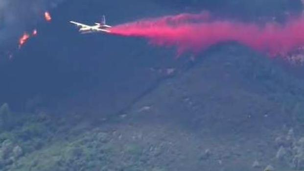 [BAY] Evacuations in Order as County Fire Burns Into Napa County
