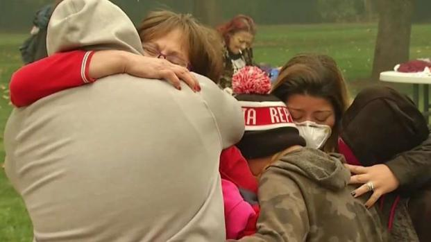 [BAY] Families Reunite After Fleeing From Deadly Wildfire