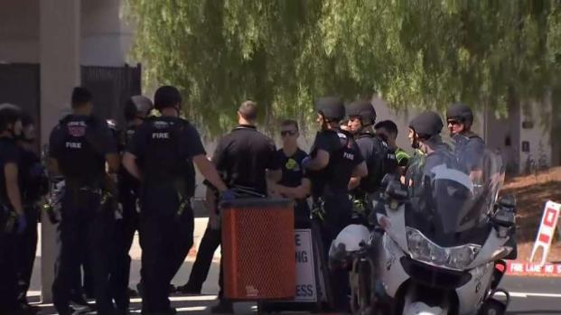 First Responders Hold Active Shooter Training in San Ramon