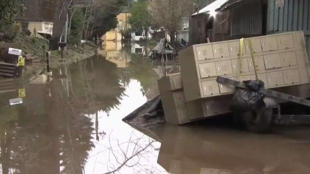 [BAY] Guerneville Filled With Debris as Floodwaters Recede