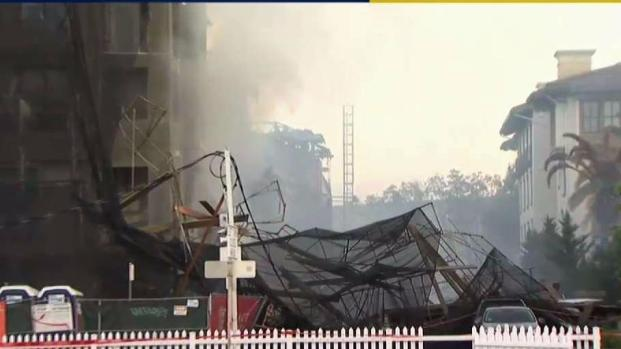 [BAY] Investigators Eye Cause in Concord Construction Site Fire