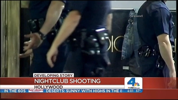 [LA] Gunfire Erupts Inside Hollywood Nightclub