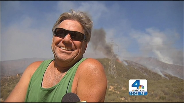 "[LA] ""Nerve-Racking"" Moments for Residents Near Powerhouse Fire"