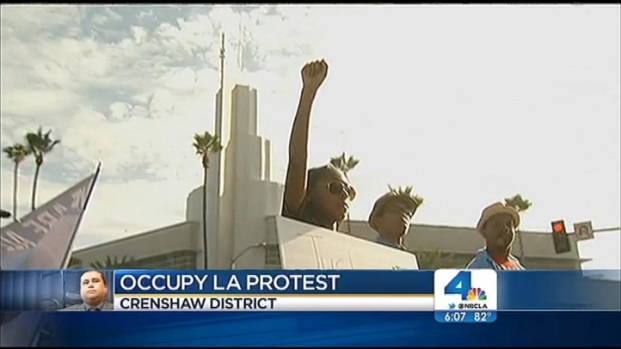 [LA] Protesters Hit LA Streets After Zimmerman Verdict
