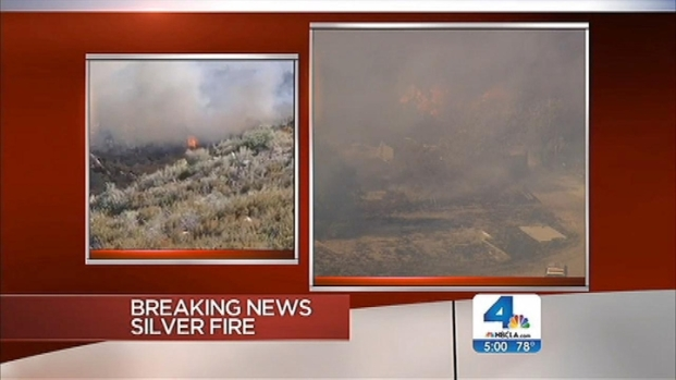 "[LA] ""Silver Fire"" in Banning Prompts Mandatory Evacuations"