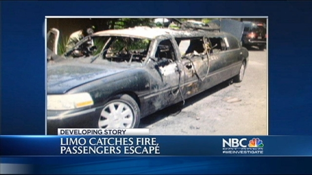 [BAY] Elderly Women Escape Limo Fire