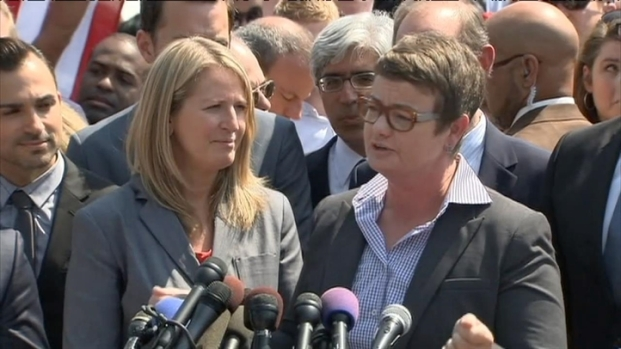[BAY] RAW VIDEO: Prop 8 Plaintiffs React to Supreme Court Ruling