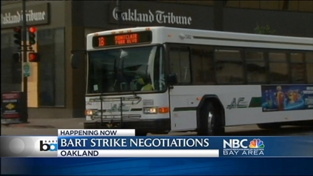 [BAY] BART Strike Rolls Into Day 4, Talks Again