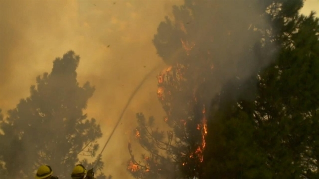 [BAY] RAW VIDEO: Rim Fire Rages Near Yosemite National Park