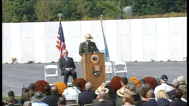 [BAY] RAW VIDEO: Memorial Ceremony in Shanksville