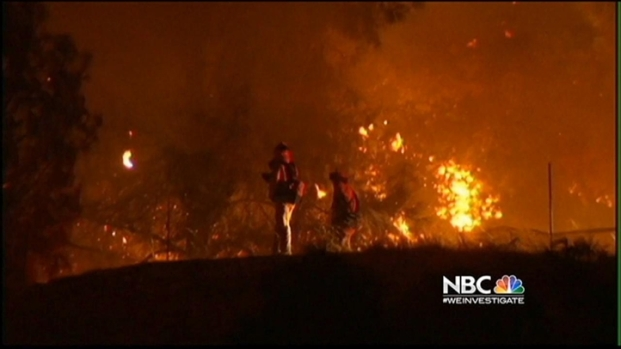[BAY] Mt. Diablo Fire Sparked by Target Shooting