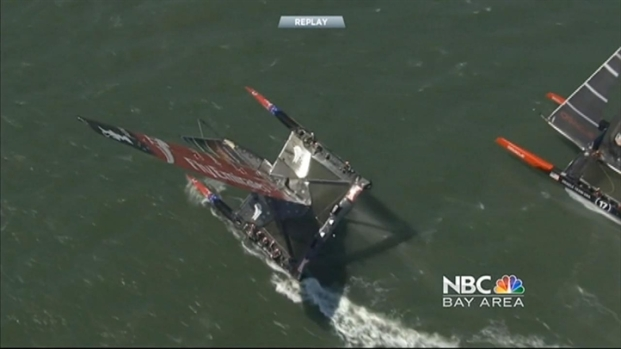 [BAY] Team Oracle USA Gets Big Win in America's Cup Race