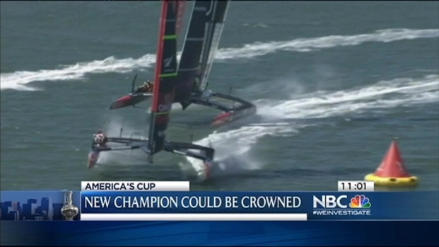 [BAY] Kiwis One Win Away From America's Cup Win