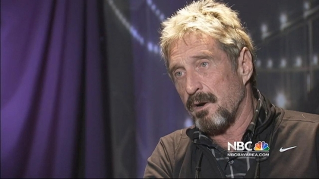 [BAY] John McAfee Launches New Company