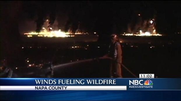 [BAY] Windy Weather Fuels Flames in East Bay