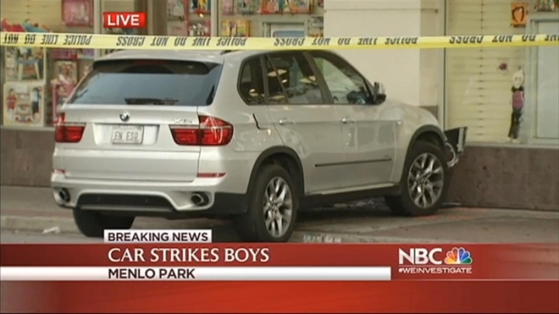 [BAY] Twin Boys Struck by Elderly Driver in Menlo Park