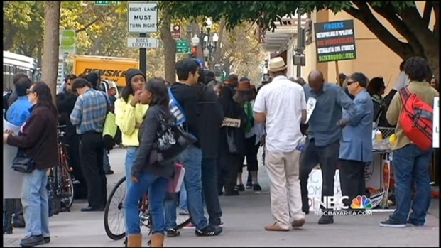 [BAY] Protest Marks Occupy Oakland 2nd Anniversary