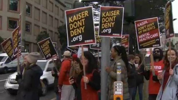 [BAY] Kaiser Mental Health Clinicians on Strike