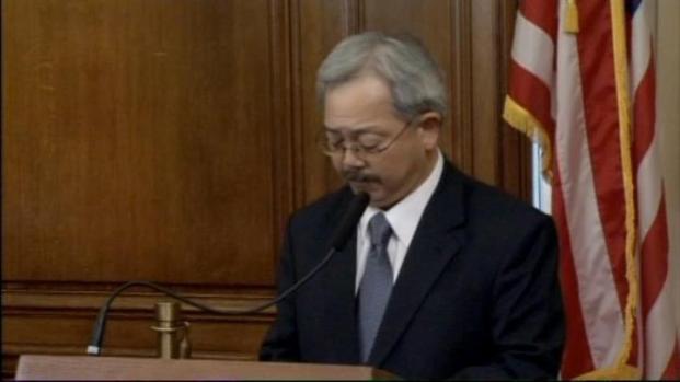 [BAY] Raw Video: Mayor Ed Lee to Suspend Sheriff
