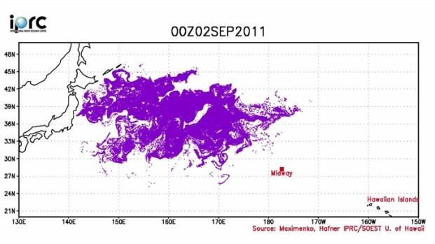 [BAY] Japan Tsunami Debris: Current Location & Path