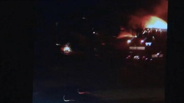 [BAY] Fire Crews Arrive at Scene of South San Jose Fire