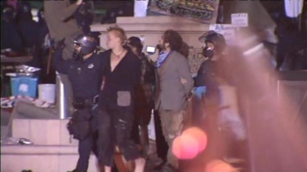 [BAY] Raw Video: People Arrested at Occupy Oakland