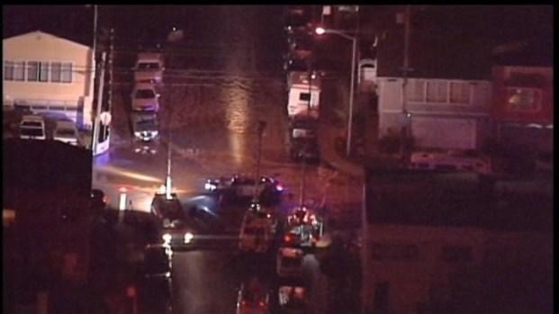[BAY] Raw Video: Daly City Neighborhood Floods