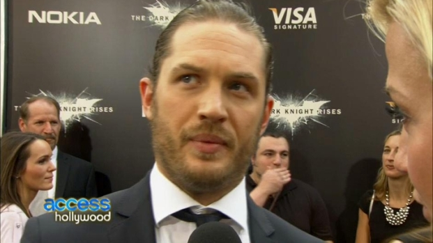 [NBCAH] 'The Dark Knight Rises' Premiere: Tom Hardy On Playing The Bad Guy