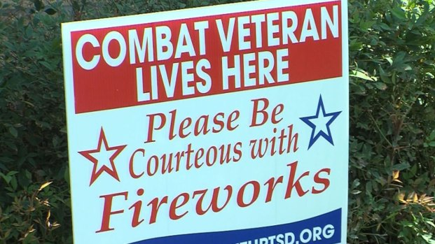 [NATL] Fireworks Can Trigger PTSD in Veterans