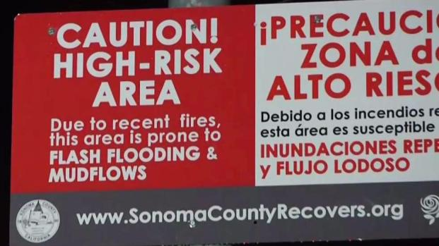 North Bay Burn Zones on Alert For Possible Mudslides
