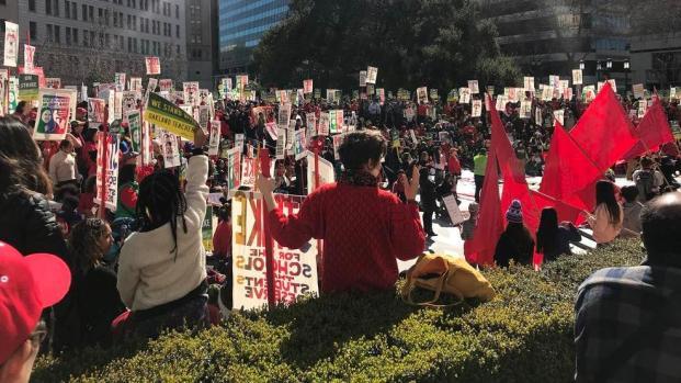 [BAY] Oakland Teachers Enter 3rd Day of Strike