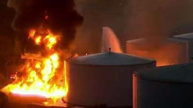 Officials Seek Cause for Crockett Fuel Storage Facility Fire