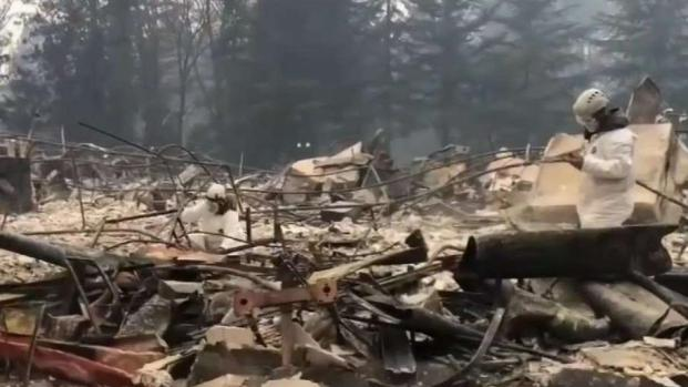 [BAY] Rain Could Hamper Search for Victims of Camp Fire