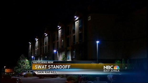 [BAY] Police Standoff Enters 15th Hour in San Rafael