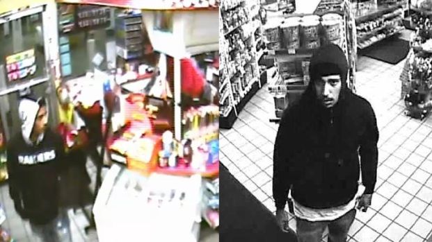 [BAY] Surveillance Pics Show Shell Station Robbery Suspects