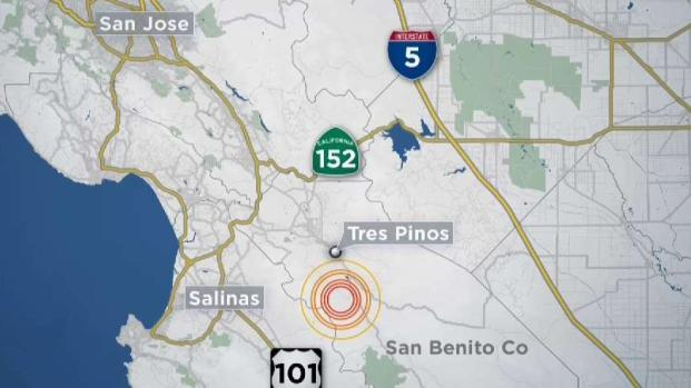 [BAY] Series of Earthquakes Felt in South Bay