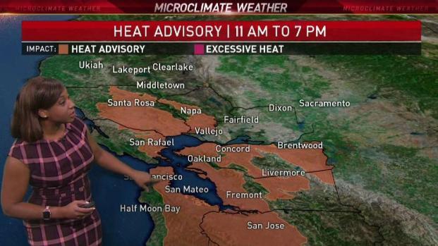 [BAY] Sizzling Temps Spark Heat Advisory in Bay Area