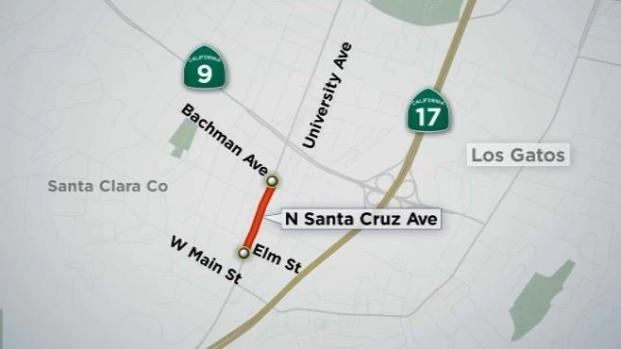 [BAY] Stretch of Los Gatos Road Goes on 'Diet'