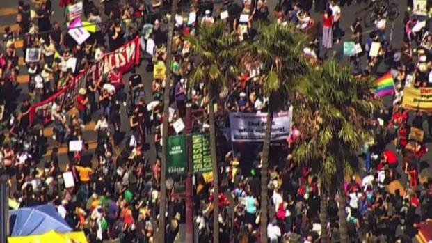 Thousands Flood San Francisco in March Against Hate
