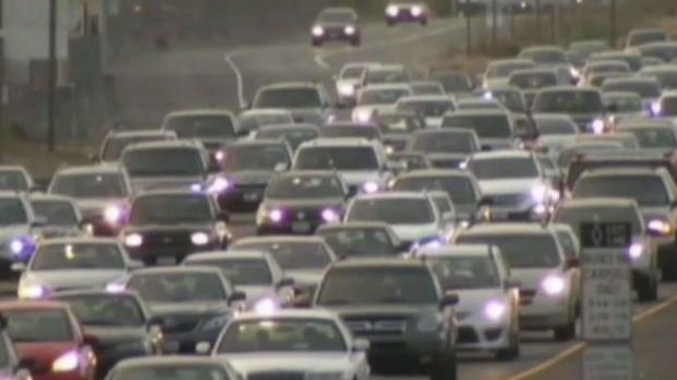 [BAY ML 4A REDELL] Bay Area Freeway Traffic Continues to Worsen: MTC