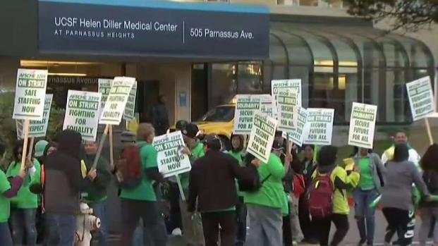 [BAY] UC Medical Workers Go on Strike
