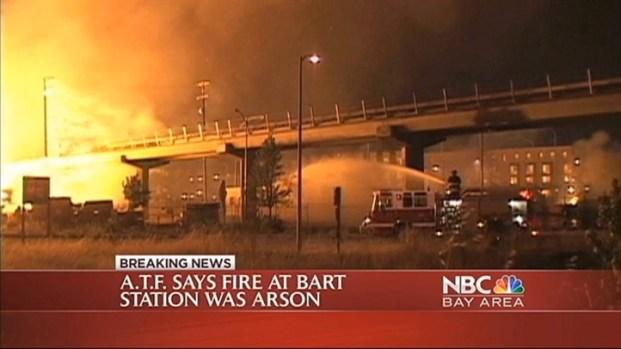 [BAY] BART Fire Ruled as Arson