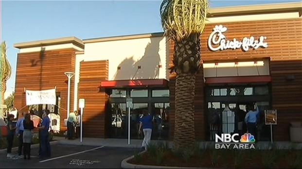 [BAY] Chick-fil-A San Jose Opens Thursday