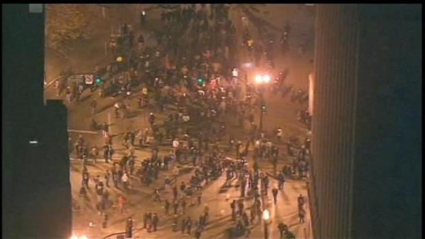 [BAY] Raw video: Occupy Oakland Prepped for Raid