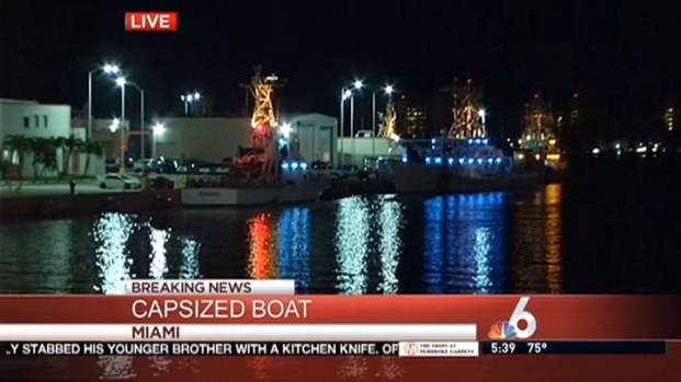 [MI] 9 Rescued After Boat Sinks Off Miami Beach