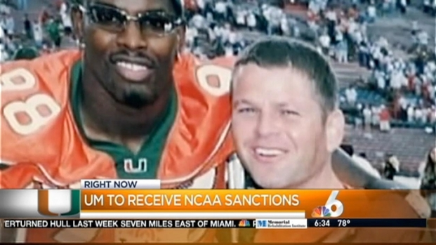 [MI] University of Miami to Learn of Sanctions From NCAA in Shapiro Scandal